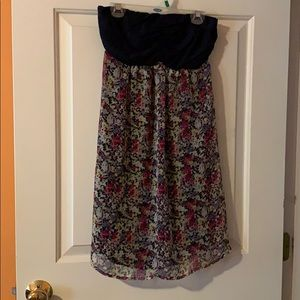 Express tube top dress. Size small. Like new.